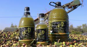 Aceite de Oliva Virgen Extra envasado Aljaoliva