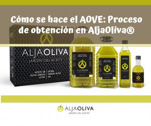 Cómo se hace el AOVE: Proceso de obtención del Aceite de Oliva Virgen Extra en AljaOliva