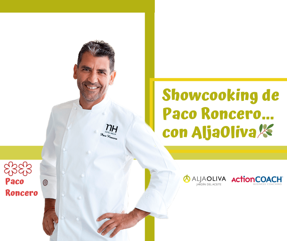 Showcooking Chef Paco Roncero Aljaoliva